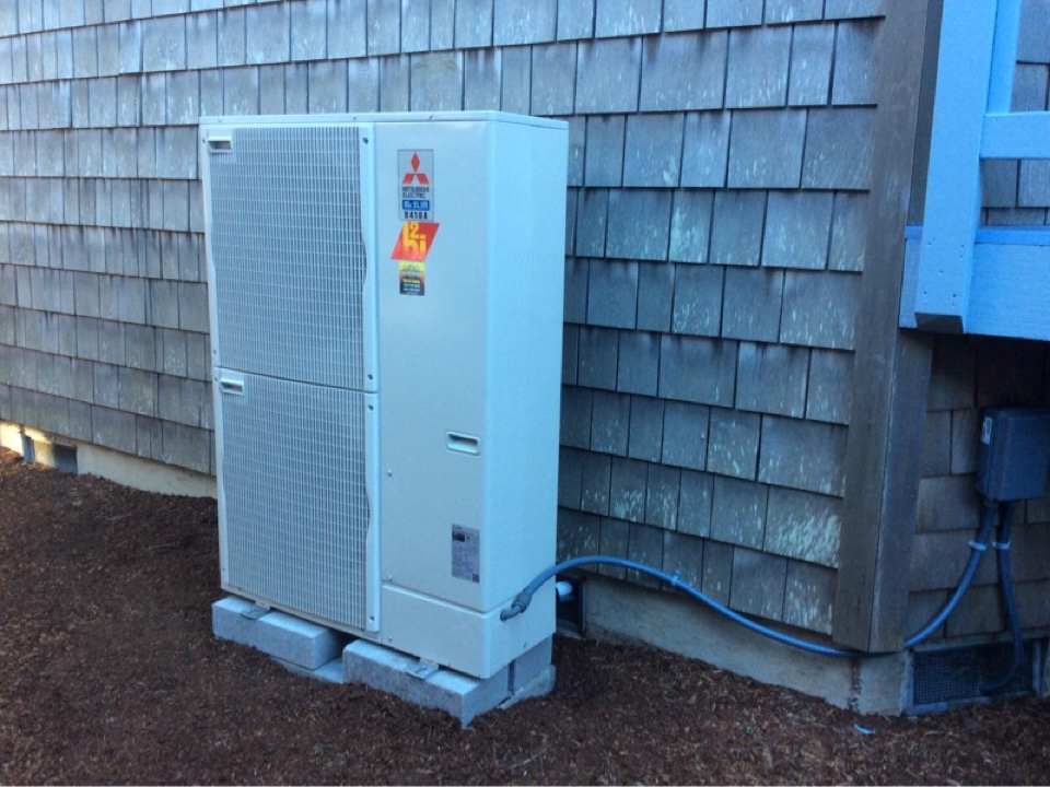 Yachats, OR - Installation and start up of a Mutsubishi ductless hybrid heat pump system in Yachats, Oregon
