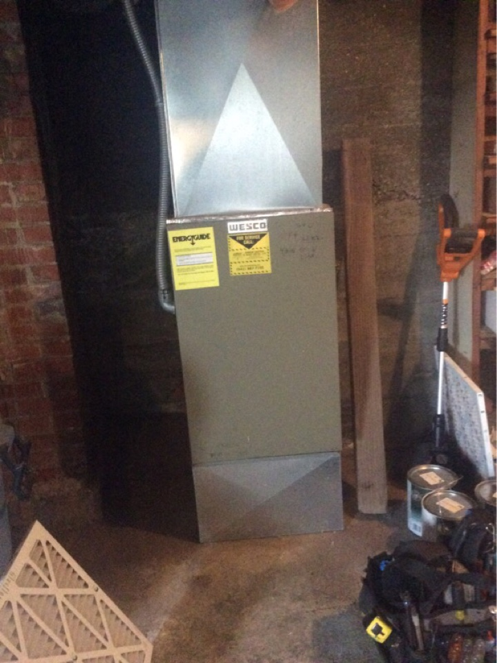 Yachats, OR - Service visit requested to perform annual maintenance on a Wesco electric furnace in Yachats Or