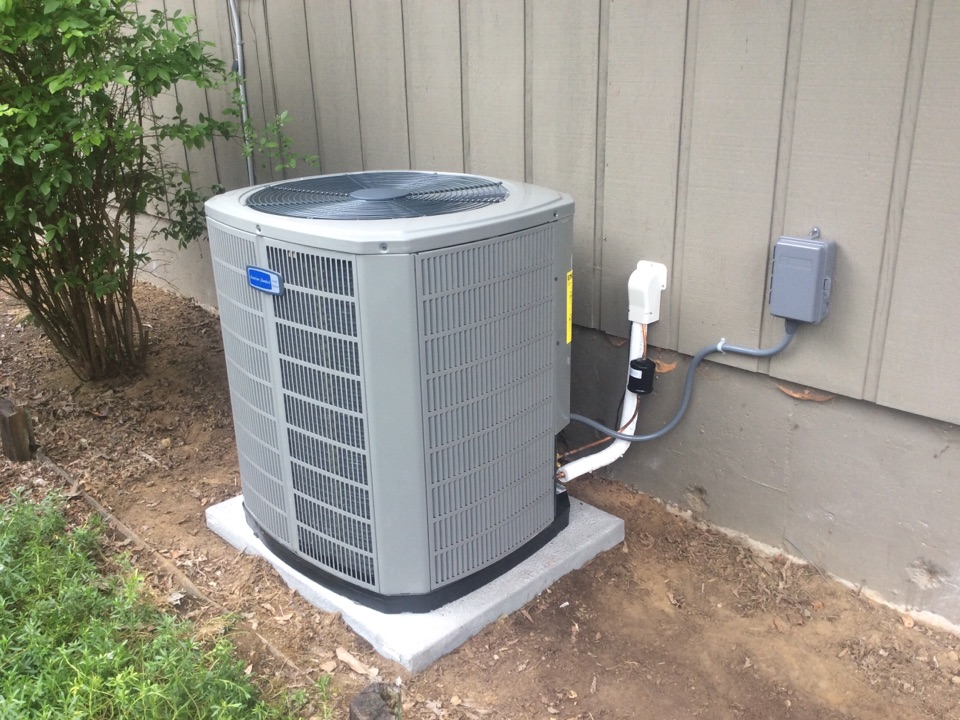 Tidewater, OR - Service visit requested to perform the installation, and commission of a American Standard Gold series Heatpump in Tidewater Or