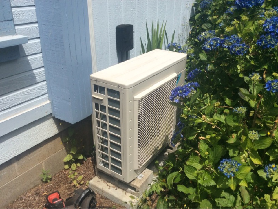 Siletz, OR - Service visit requested to perform the required maintenance on a Diakin ductless Heatpump in Siletz Or