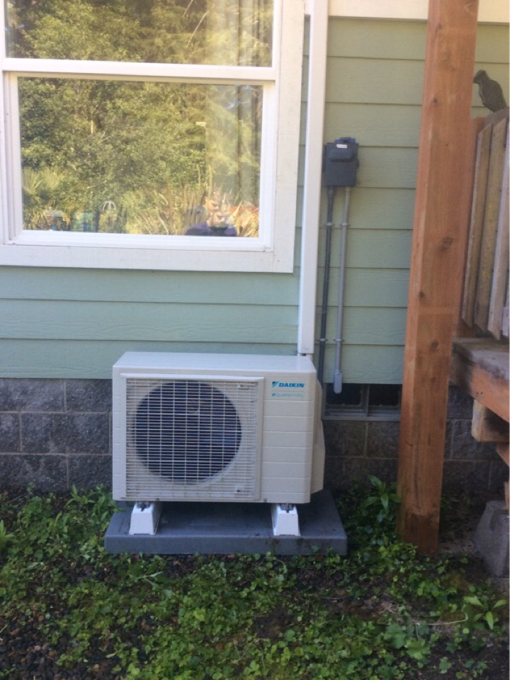 Seal Rock, OR - Service visit requested to perform the maintenance on a Daikin Quaternity ductless Heatpump in Seal Rock Or