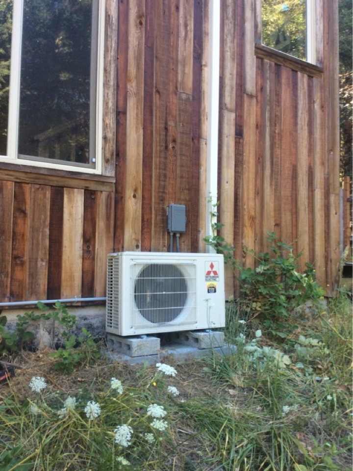 Philomath, OR - HVAC service visit to perform the maintenance on a Mitsubishi hyper heat ductless Heatpump in Philomath Or
