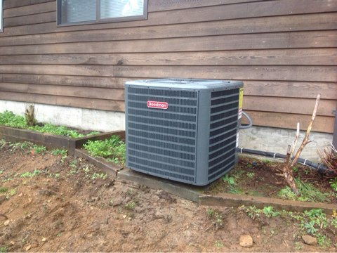 Tidewater, OR - Installation of a heat pump in Tidewater, Oregon