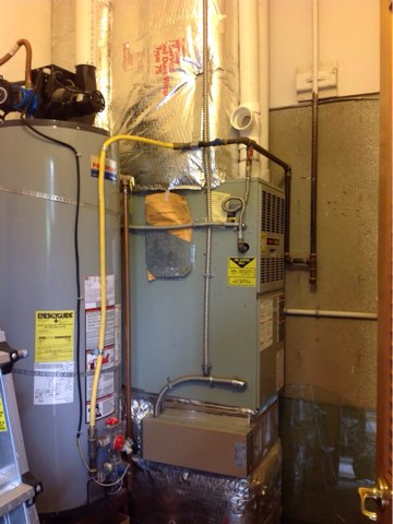 Cloverdale, OR - Repair visit for a Trane gas furnace in Neskowin Oregon