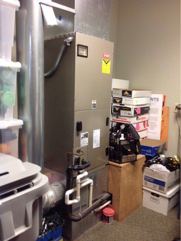 Cloverdale, OR - Installation of a high efficiency ECM fan motor in a heat pump system in Pacific City, Oregon