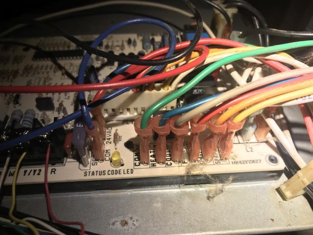 Austin, TX - AC repair Austin TX. Bad control board. Replace control board. System working again.