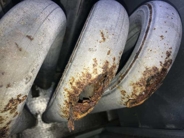 Austin, TX - HVAC service. Bad Heat Exchanger. Carbon monoxide leak. Recommend new Carrier system.