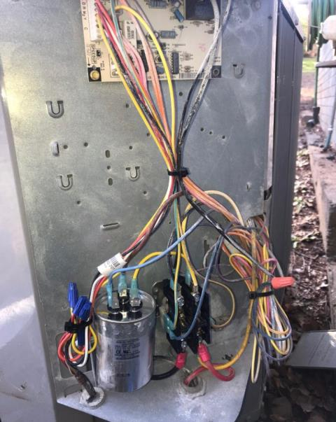 Elgin, TX - AC not cooling Elgin. The outdoor voltage enhancement system is operating out of the recommended range. Replace part. System is working properly.