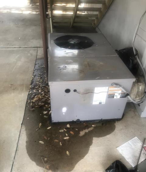 Bastrop, TX - Air conditioning companies. The system is unable to keep up with the thermostat setting. Make repairs on 3 ton package unit. The air conditioner is cooling properly at this time.
