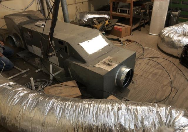 Bastrop, TX - ductwork repair. The ac is not cooling well. Redo the ductwork. The ac is cooling properly at this time,