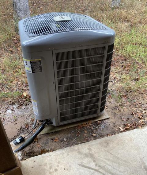 Bastrop, TX - Air conditioning. Perform a full system evaluation and clean the ac system. The air conditioner and heater are working properly at this time.