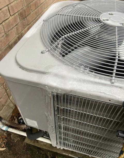 Bastrop, TX - Heating and Cooling. Perform heating evaluation on Carrier system. Make repairs. The system is heating properly at this time.