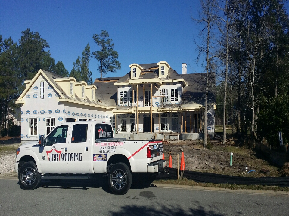"""Pooler, GA - good way to start the new year """"2015""""signed contract and another job for JCB Roofing.before pic"""
