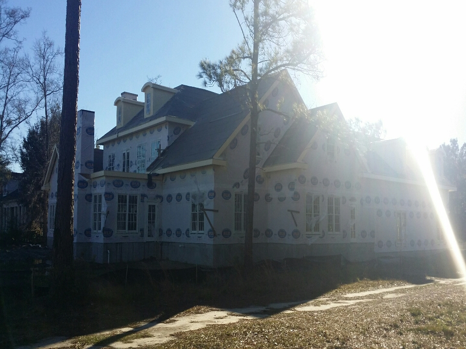 Pooler, GA - Rear elevation of new project in Savannah Quarters for 2015