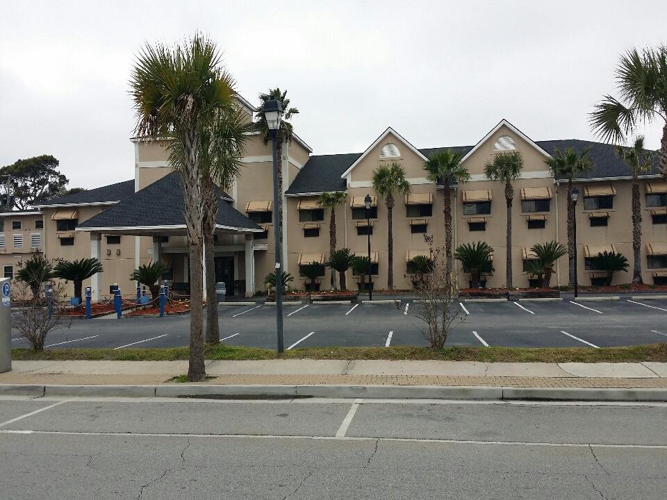 Tybee Island, GA -  finished hotel on Tybee Island GAF charcoal black