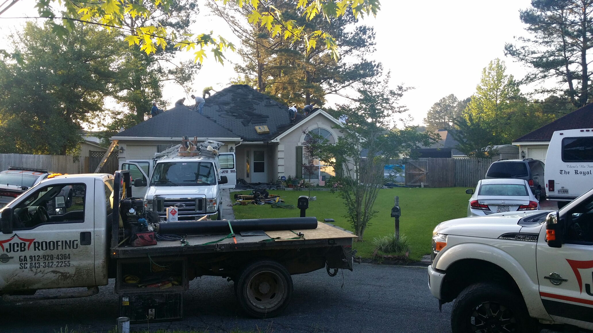 Pooler, GA - Roof replacement with certainteed lifetime architectural in Pooler ga