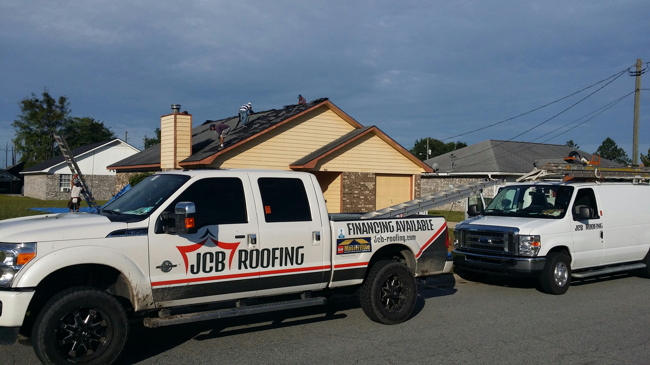 Hinesville, GA - Roof replacement in Hinesville Georgia