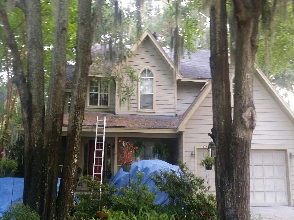 Wilmington Island, GA - roof replacement on Wilmington island
