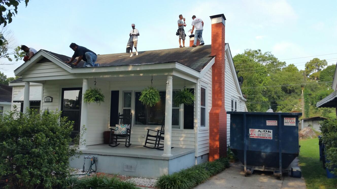 Wilmington Island, GA - Metal roof installation in savannah