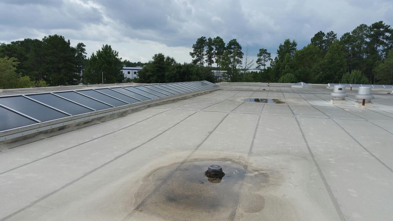Pooler, GA - Flat roof replacement in savannah