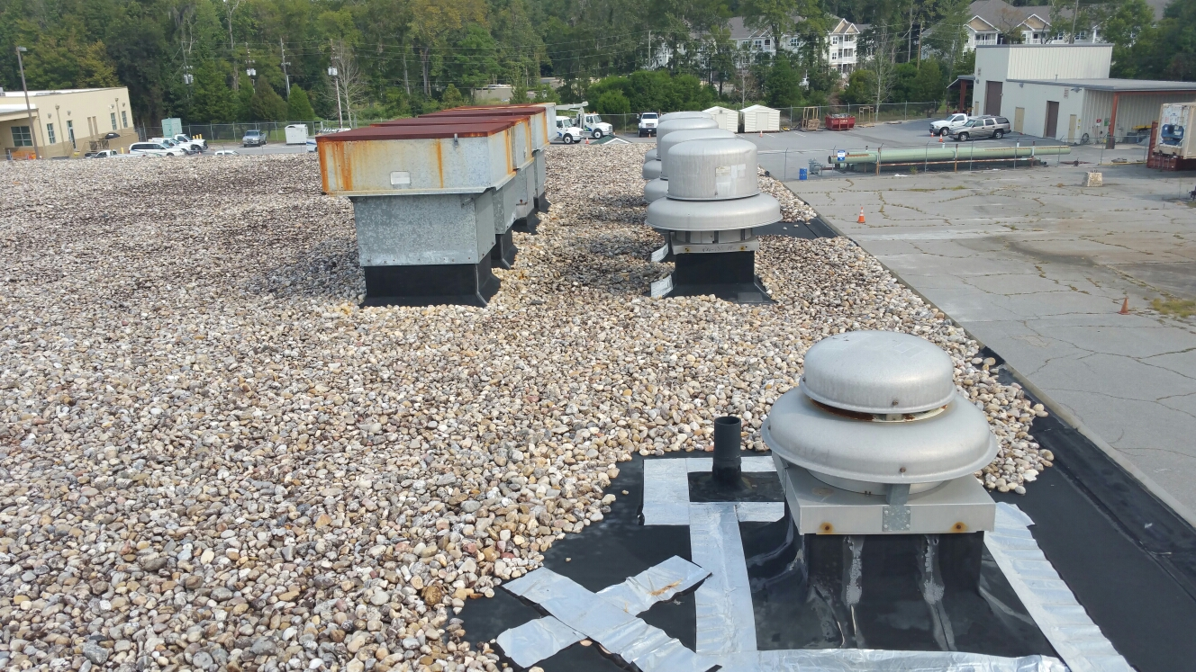 Pooler, GA - Commercial Flat roof replacement
