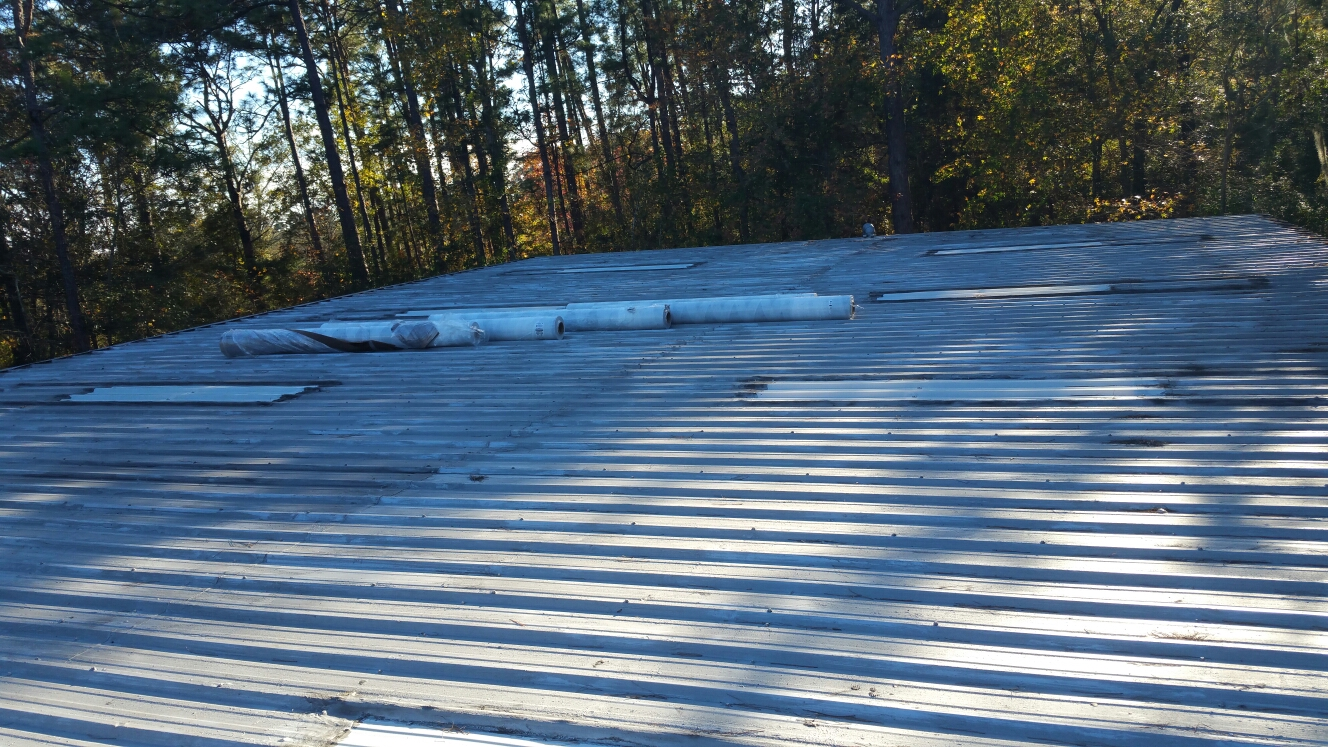 Beaufort, SC - Roof replacement in Beaufort south carolina with versicolor tpo