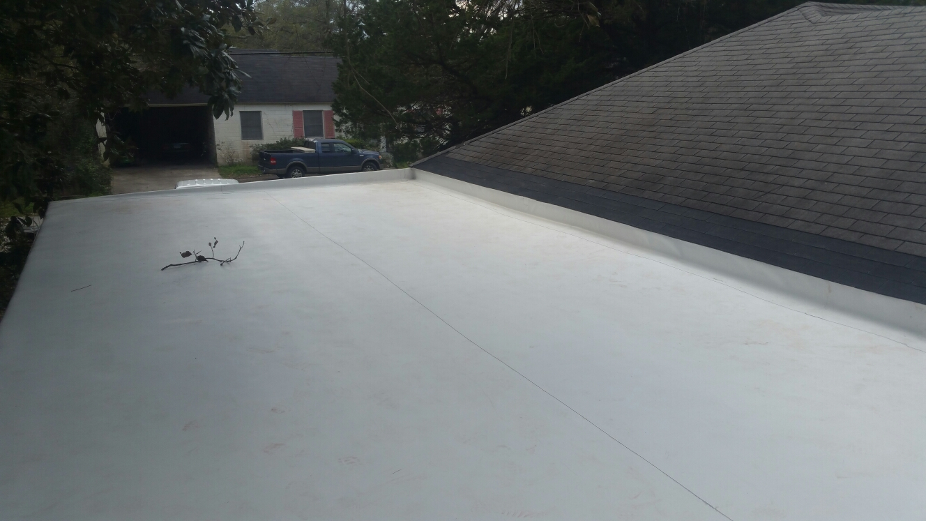 Brunswick, GA - TPO re-roof brunswick ga