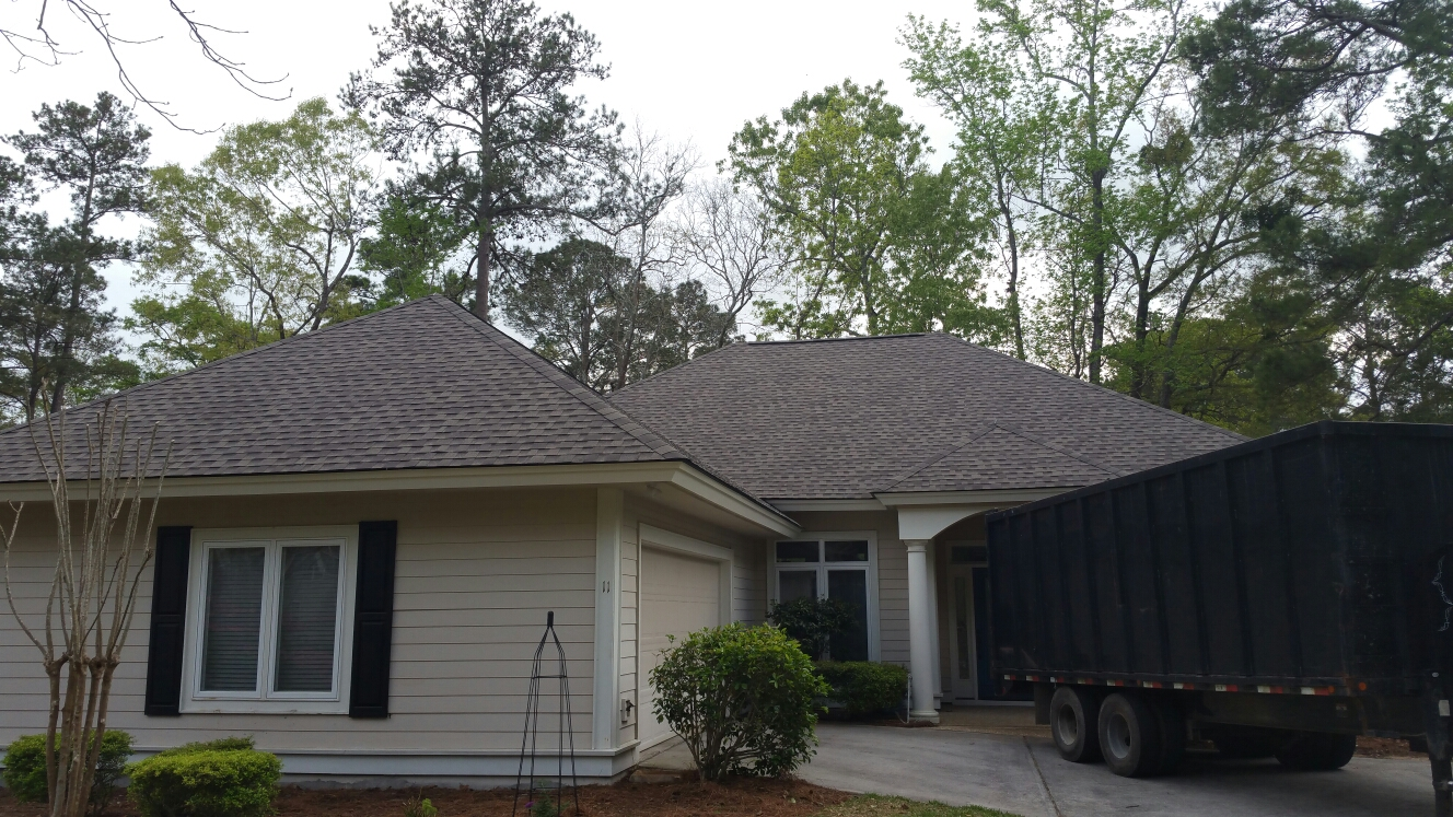 Bluffton, SC - Finished roof install in Hilton head south Carolina