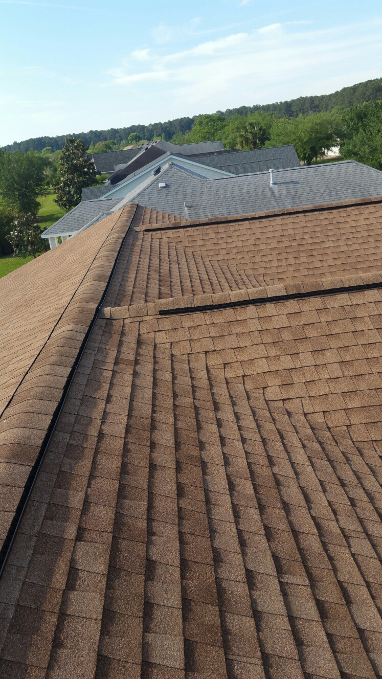 Bluffton, SC - Roof inspection for storm damage in bluffton south carolina