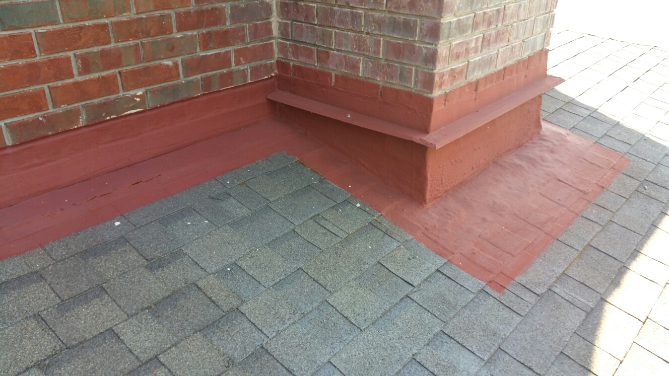 Savannah, GA - Chimney reflash in by local roofing company JCB ROOFING