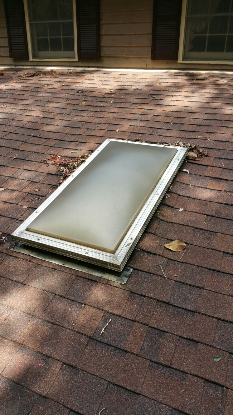 Savannah, GA - Skylight repair in savannah GA by local roofing company JCB ROOFING