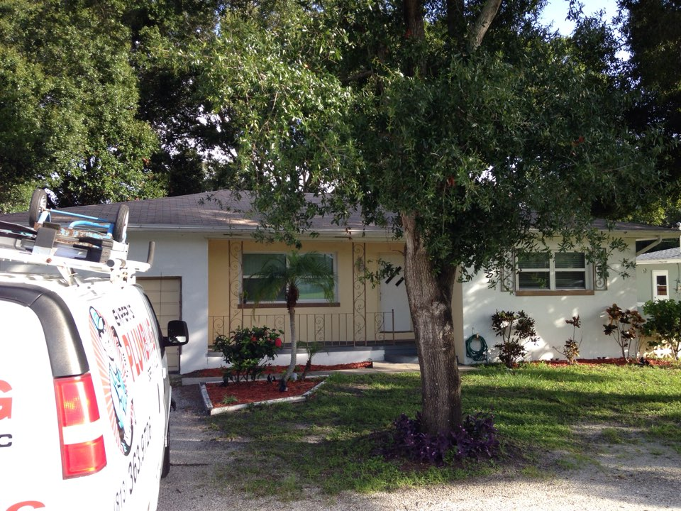Clearwater, FL - Laundry and bathroom stoppage