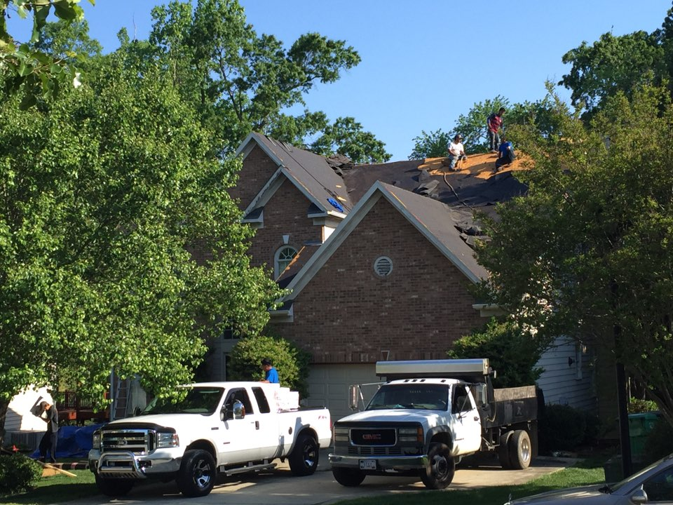 Getting Our Roof Replacement For Today Started In Greensboro, NC