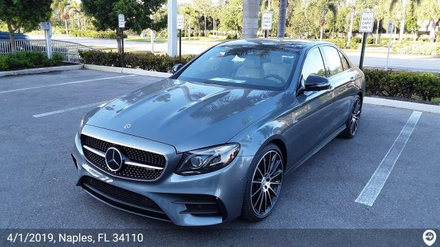 Naples, FL - Loaded a 2019 Mercedes-Benz E53 in Bluffton, SC and delivered it in Naples, FL