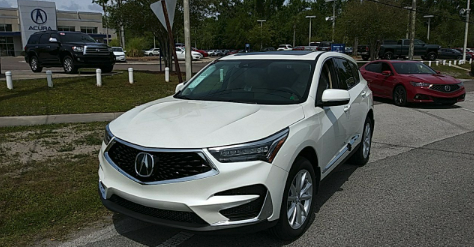 Jacksonville, FL - Loaded a 2019 Acura RDX in Jacksonville, FL and delivered it in Sanford, FL