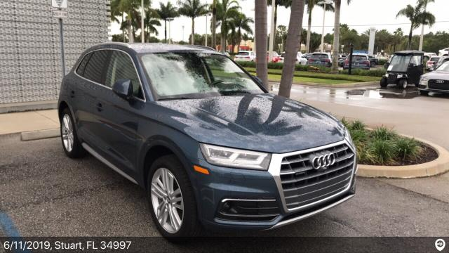 Charlotte, NC - Loaded a 2018 Audi Q5 in Stuart, FL and delivered it in Charlotte, NC