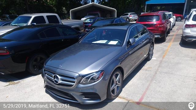 Sarasota, FL - Loaded a 2019 Mercedes-Benz E450 in Maitland, FL and delivered it in Sarasota, FL