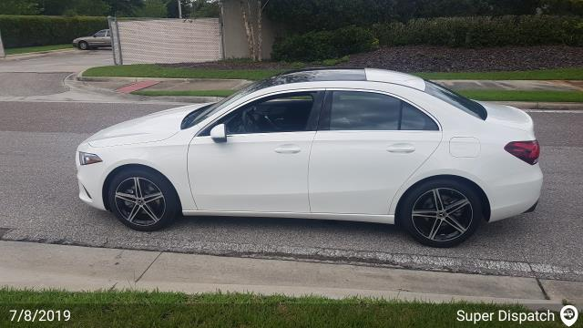 Maitland, FL - Loaded a 2019 Mercedes-Benz A-Class in Wesley Chapel, FL and delivered it in Maitland, FL