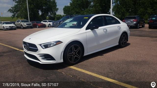 Bloomington, MN - Loaded a 2019 Mercedes-Benz A220 in Sioux Falls, SD and delivered it in Bloomington, MN