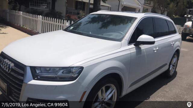 Decatur, GA - Loaded a 2018 Audi Q7 in Studio City, CA and delivered it in Decatur, GA