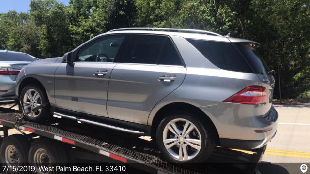 Fort Lauderdale, FL - Loaded a 2012 Mercedes-Benz ML in West Palm Beach, FL and delivered it in Fort Lauderdale, FL
