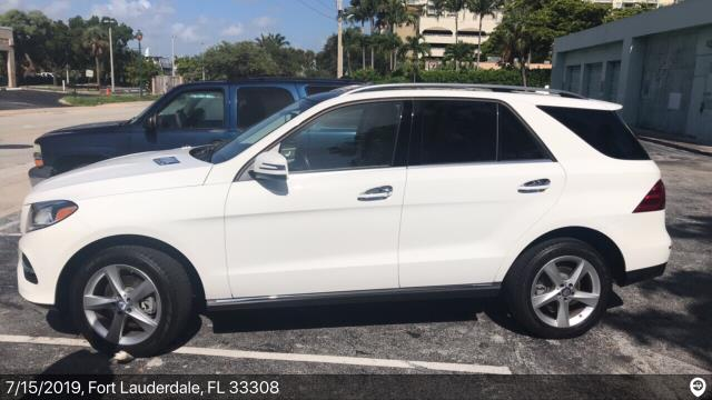 West Palm Beach, FL - Loaded a 2017 Mercedes-Benz GLE in Fort Lauderdale, FL and delivered it in West Palm Beach, FL