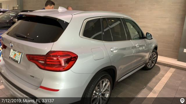 Miami, FL - Loaded a 2019 BMW X3 in Miami, FL and delivered it in New York, NY