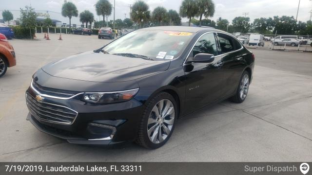 West Palm Beach, FL - Loaded a 2016 Chevrolet Malibu in Lauderdale Lake, FL and delivered it in West Palm Beach, FL