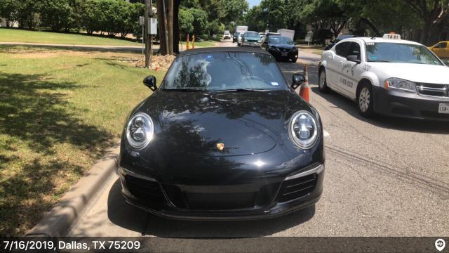 San Diego, CA - Loaded a 2015 Porsche 911 S in Dallas, TX and delivered it in San Diego, CA