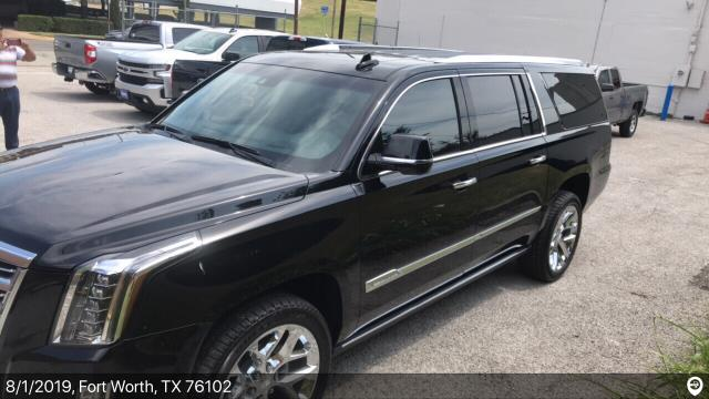 Fort Worth, TX - Loaded a 2019 Cadillac Escalade ESV in Fort Worth, TX and delivered it in Baton Rouge, LA