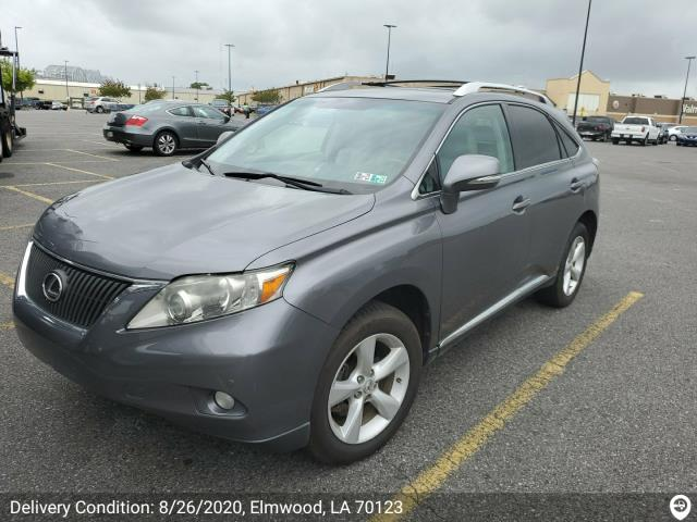 New Orleans, LA - Transported a 2012 Lexus RX 350 from Newtown Square, PA to New Orleans, LA.