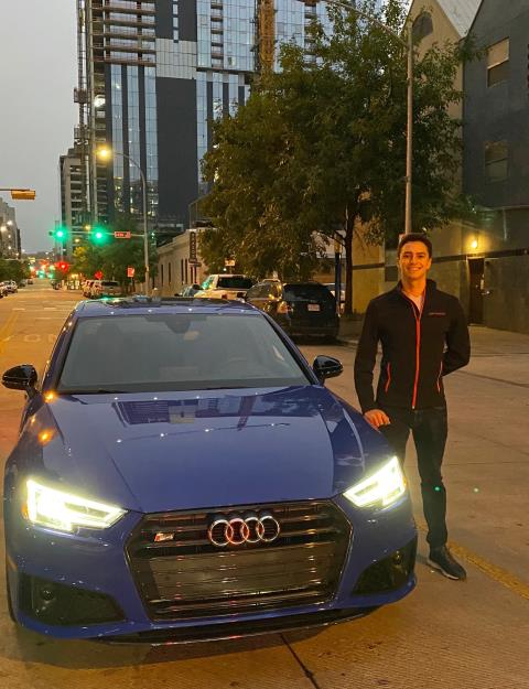 Austin, TX - Transported a 2019 Audi S4 from Jacksonville, FL to Austin, TX.