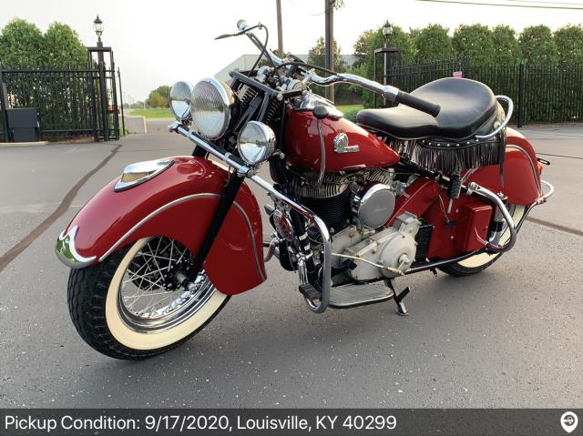 Port St. Lucie, FL - Transported a motorcycle from Louisville, KY to Port St Lucie, FL