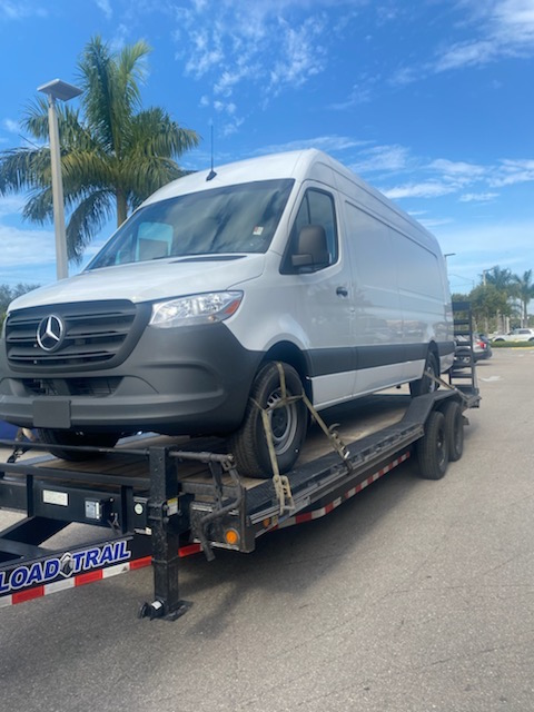 Naples, FL - Transported a vehicle from Williamsville, NY to Naples, FL